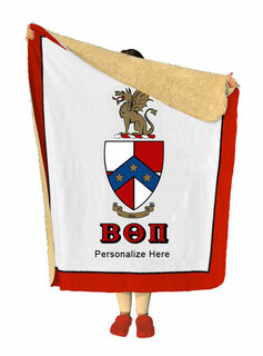 Beta Theta Pi Sherpa Lap Blanket