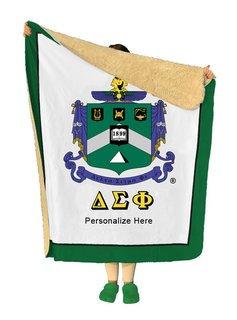 Delta Sigma Phi Sherpa Lap Blanket