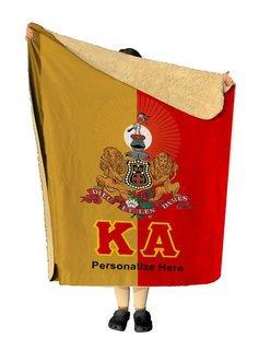 Kappa Alpha Two Tone Two Tone Sherpa Lap Blanket