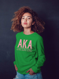 Alpha Kappa Alpha Message Sweatshirt