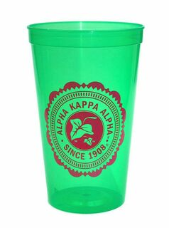 Alpha Kappa Alpha Old Style Classic Giant Plastic Cup