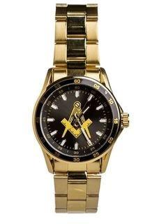 Mason Steel Watch w/ Shield