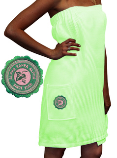 DISCOUNT-Sorority Seal Towel Wraps