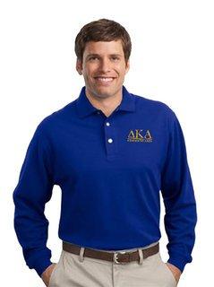 Delta Kappa Alpha Long Sleeve Polo