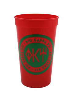Set of 10 - Phi Kappa Psi Big Ancient Greek Letter Stadium Cup - Clearance!!!