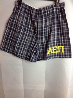 Super Savings - Alpha Epsilon Pi Boxer Shorts - Navy