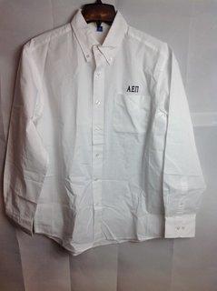 Super Savings - Alpha Epsilon Pi Classic Oxford - White