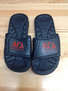 Super Savings - Alpha Gamma Delta Slides - Black - Size 7 - 3 of 5