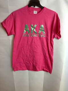 Super Savings - Alpha Kappa Alpha Bar T-Shirt - Pink