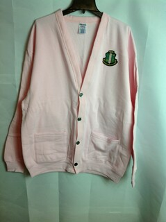 Super Savings - Alpha Kappa Alpha Cardigan Sweatshirt - Pink