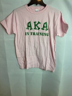 Super Savings - Alpha Kappa Alpha In Training T-Shirt - Pink