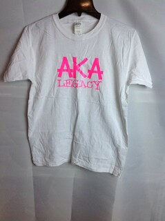 Super Savings - Alpha Kappa Alpha Legacy T-Shirt - White