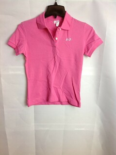 Super Savings - Alpha Kappa Alpha Rhinestone Letter Polo - Pink