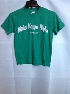 Super Savings - Alpha Kappa Alpha Trademark T-Shirt - Green