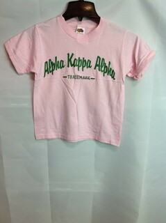 Super Savings - Alpha Kappa Alpha Trademark T-Shirt - Pink