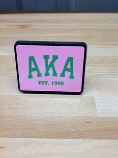 Super Savings - Alpha Kappa Alpha Trailer Hitch