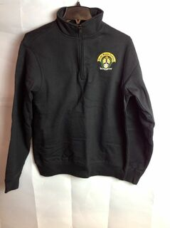 Super Savings - Alpha Kappa Lambda Emblem 1/4 Zip Pullover - Black