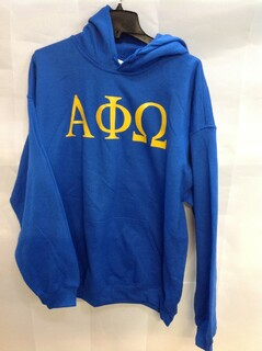 Super Savings - Alpha Phi Omega World Famous Greek Hoodie - Blue