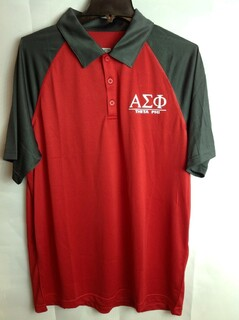 Super Savings - Alpha Sigma Phi Polo - Red 2 of 3