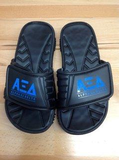 Super Savings - Alpha Xi Delta Slides - Black - Size 5 - 1 of 4