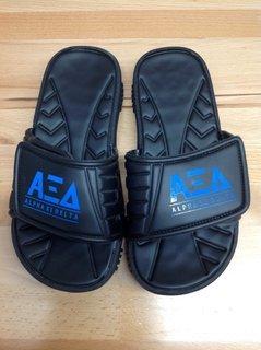 Super Savings - Alpha Xi Delta Slides - Black - Size 5 - 2 of 4