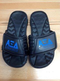 Super Savings - Alpha Xi Delta Slides - Black - Size 5 - 3 of 4