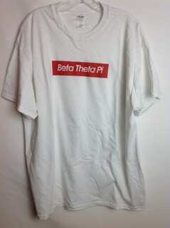 Super Savings - Beta Theta Pi Supreme Tee - White