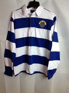 Super Savings - Chi Phi Rugby Shirt - Blue - White