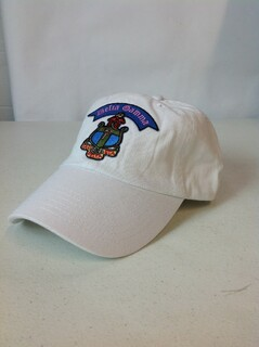 Super Savings - Delta Gamma Crest - Shield Hat - White