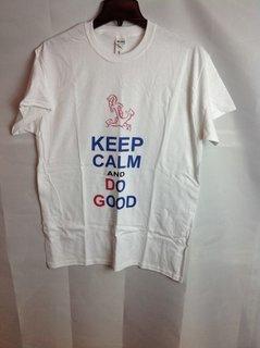 Super Savings - Delta Gamma Keep Calm T-Shirt - White - S