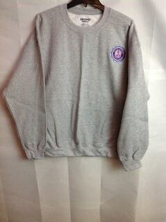 Super Savings - Delta Gamma Seal Emblem Crewneck - Gray