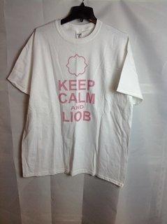 Super Savings - Gamma Phi Beta Keep Calm T-Shirt - White - L - 1 of 6