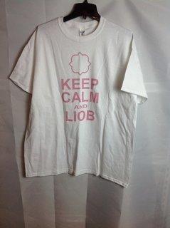 Super Savings - Gamma Phi Beta Keep Calm T-Shirt - White - L - 3 of 6