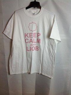 Super Savings - Gamma Phi Beta Keep Calm T-Shirt - White - L - 4 of 6
