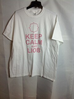 Super Savings - Gamma Phi Beta Keep Calm T-Shirt - White - XL - 1 of 4