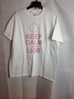 Super Savings - Gamma Phi Beta Keep Calm T-Shirt - White - XL - 3 of 4