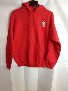 Super Savings - Kappa Alpha Psi Crest - Shield Emblem Hooded Sweatshirt - Red - 1 of 2