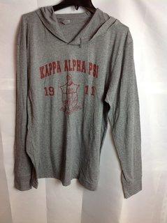 Super Savings - Kappa Alpha Psi Triblend Long Sleeve Tee - Gray - 2 of 4