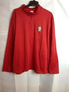 Super Savings - Kappa Alpha Psi World Famous Crest - Shield Wicking Sweatshirt - Red - 1 of 3