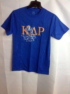 Super Savings - Kappa Delta Rho Crest - Shield Tee - Blue