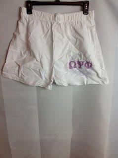 Super Savings - Omega Psi Phi Boxer Shorts - White