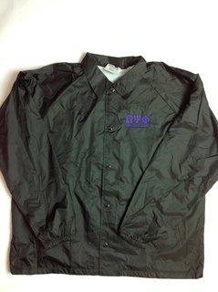 Super Savings - Omega Psi Phi Coach's Jacket - BLACK