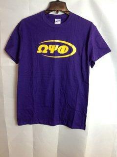 Super Savings - Omega Psi Phi Swoosh Tee - Purple