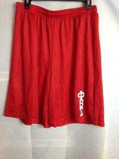 Super Savings - Phi Beta Sigma Mesh Shorts - Red