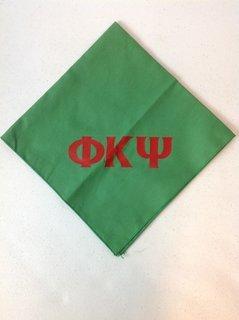 Super Savings - Phi Kappa Psi Dog Bandana - Green