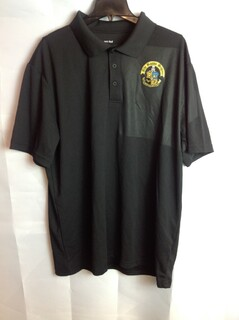 Super Savings - Phi Kappa Sigma Crest - Shield Contender Polo - Black