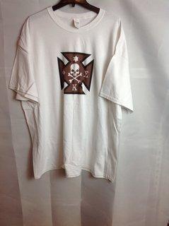 Super Savings - Phi Kappa Sigma Logo Tee - White
