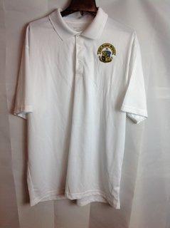Super Savings - Phi Kappa Sigma World Famous Greek Crest Shield Contender Polo - White