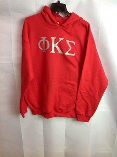 Super Savings - Phi Kappa Sigma World Famous Greek Hoodie - Red