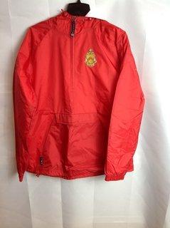 Super Savings - Phi Kappa Tau Crest - Shield Anorak - Red